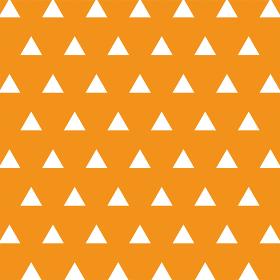 三角模様 オレンジ
