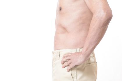 健康体のシニア男性