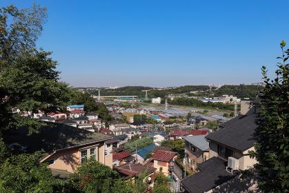 境川流域の街並み(神奈川県藤沢市)