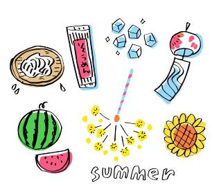 様々な夏のイメージ