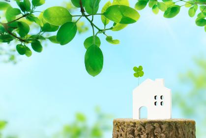自然に囲まれた快適な住まいイメージ