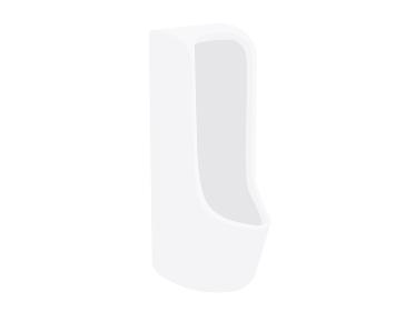男性用トイレの便器のイラスト