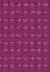 和風和柄背景ベクターデータ|シームレス伝統模様 青海波(せいがいは)全面|紫系