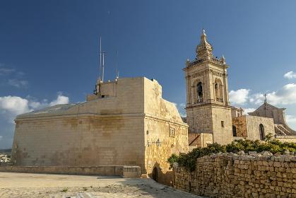 Cavalier at Cittadella Gozo