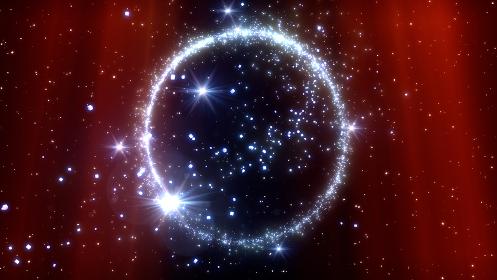 スター 星 キラキラ スパーク パーティクル 花火 スパーク 3D イラスト 背景 バック