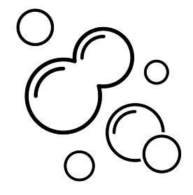 泡のアイコン