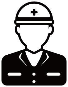 労働者アイコンイラスト / 作業員・工事現場・建設現場