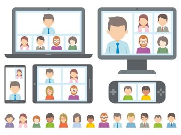 テレワーク リモートワーク オンライン ビデオ会議