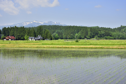 骨寺村荘園遺跡地区と栗駒山