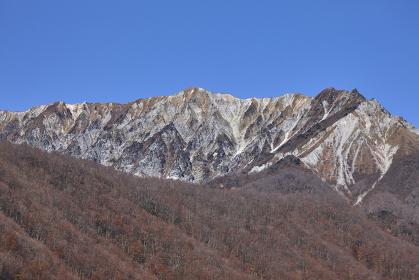 奥大山スキー場より望む大山