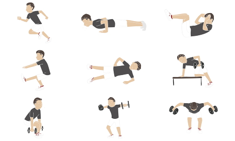 運動 筋トレ セット