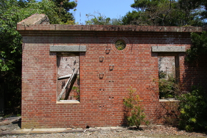 和歌山県の由良要塞遺構・友が島砲台