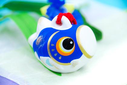 鯉のぼりの置き物 かわいい