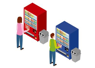 自動販売機 アイソメトリック