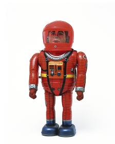 ブリキの宇宙飛行士