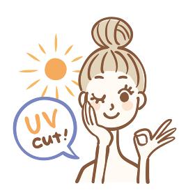 UVカットイメージ