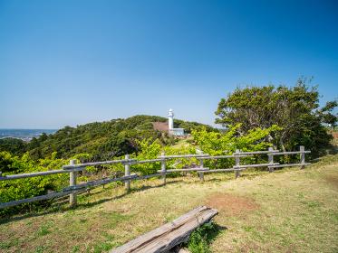 千葉県いすみ市の太東岬の風景 3月