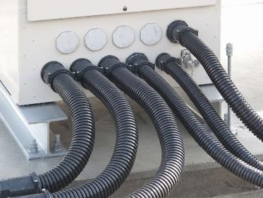 電気の配線の防水カバーホース