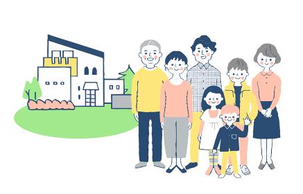 3世代家族と家