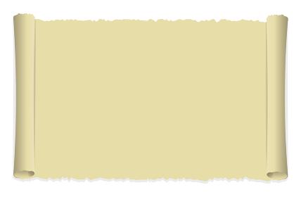 縁の丸まったボロボロの紙 / ベクターイラスト(背景素材)