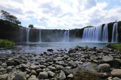 東洋のナイアガラ 原尻の滝