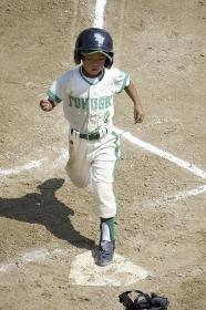 少年野球ランナー