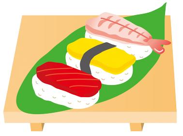 寿司、握り寿司, たまご, お寿司, まぐろ, 鮪、セット