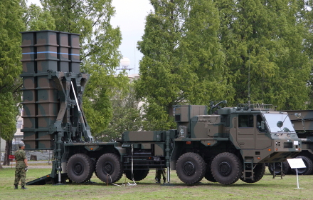 03式中距離地対空誘導弾(2010年陸自桂駐屯地イベント)