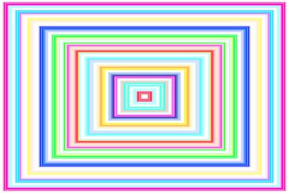 長方形パターン9