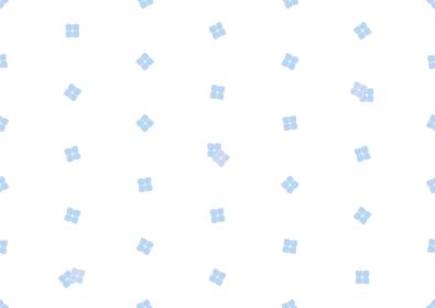アジサイのシームレスなドット背景のイラスト 2