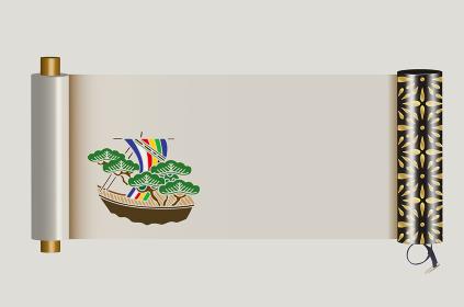 宝船と絵巻