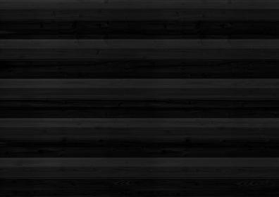 黒い木目の横組みの背景 1257