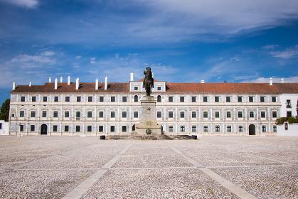 Vila Vicosa Ducal Palace in Alentejo, Portugal