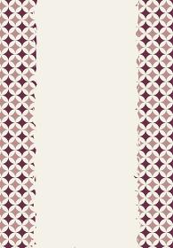 和柄のイラスト背景|日本の伝統模様 左右七宝文様帯 縦位置ブラウン系