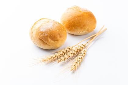 プチフランスパンと小麦穂