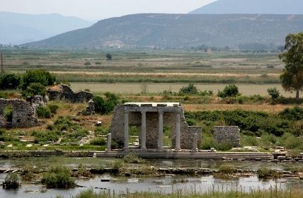 north agora of miletus