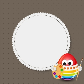 Beautiful Easter Egg Background Vector Illustration EPS10. Beautiful Easter Egg Background Vector Illustration