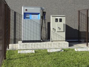 電気自動車の公衆充電スタンド