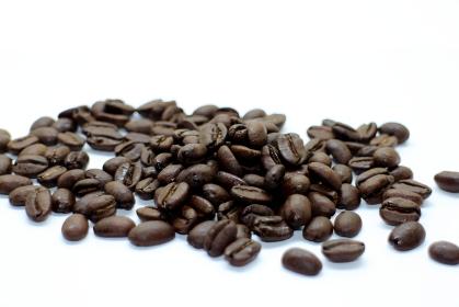 渋いコーヒー豆の素材