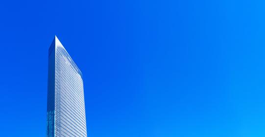 電通 電通本社ビルの外観 【東京都の都市風景】