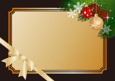 クリスマス素材イラスト