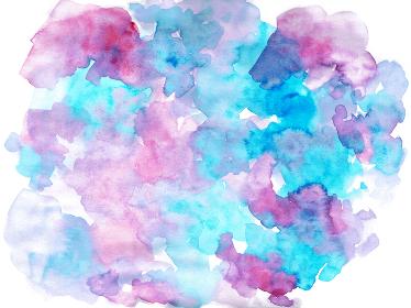 紫系水彩のテクスチャ