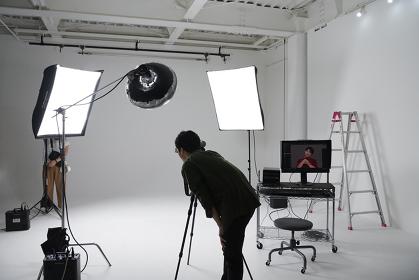 スタジオ撮影イメージ