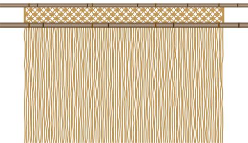 縄のれん 和風の大衆的な居酒屋のイメージ