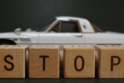 交通マナー、車両窃盗など、交通規則や車の犯罪に関わるイメージ素材