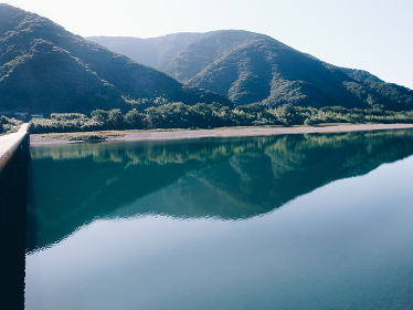 日本で一番の清流・高知県の四万十川