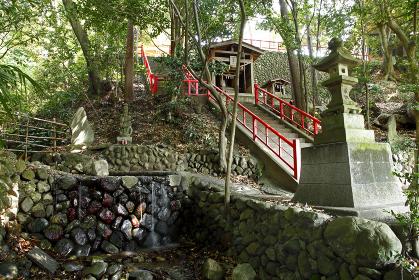 八雲神社(白瀧神社の湧水:あきる野市)