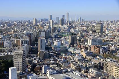 東京都心のパノラマ 池袋方面