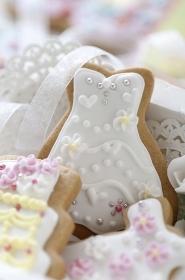 ウェディングケーキのクッキー
