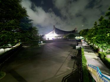 代々木第一体育館 夜景